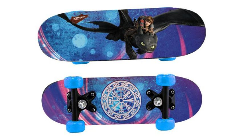 Joy Toy Dragons SKATEBOARD AUS HOLZ 43 X 12 X 8 CM
