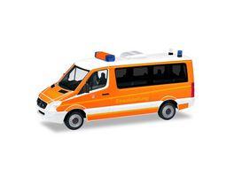 Herpa 93898 Mercedes Benz Sprinter Einsatzleitwagen Feuerwehr Ingolstadt