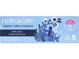 natracare Tampons Super Plus 20 stueck