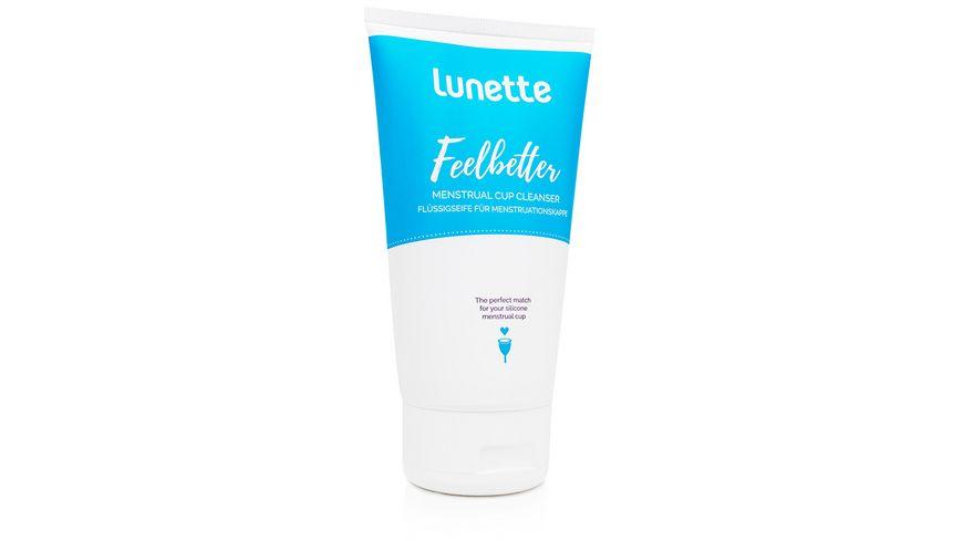 lunette Feelbetter Fluessigseife fuer Menstruationskappen