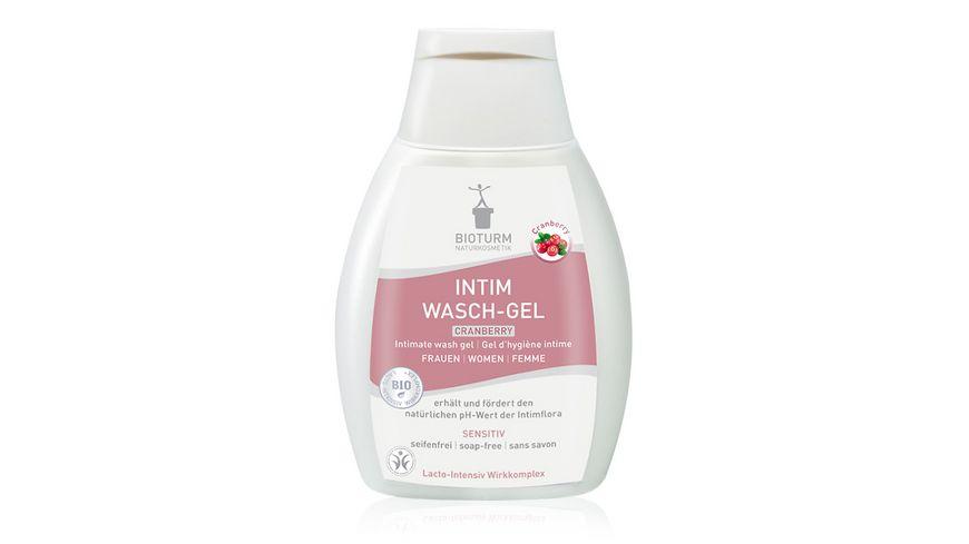 BIOTURM Intim Wasch Gel Cranberry Nr 91