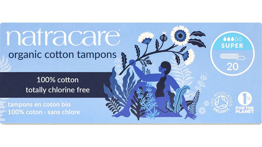 natracare Tampons Super 20 stueck