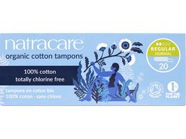 natracare Tampons Regular 20 stueck