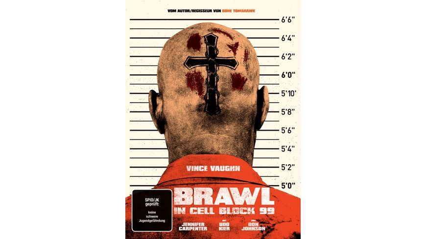 Brawl in Cell Block 99 Uncut 2 Disc Limited Collector s Mediabook DVD