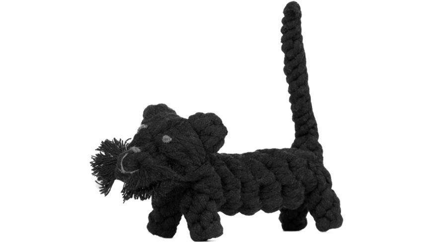 LABONI KATER CASANOVA robustes Tierspielzeug aus zahnpflegendem Baumwolltau