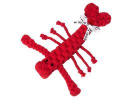 LABONI HUGO HUMMER robustes Tierspielzeug aus zahnpflegendem Baumwolltau