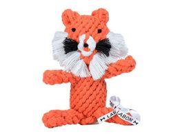 LABONI TIMOTHY TIGER robustes Tierspielzeug aus zahnpflegendem Baumwolltau