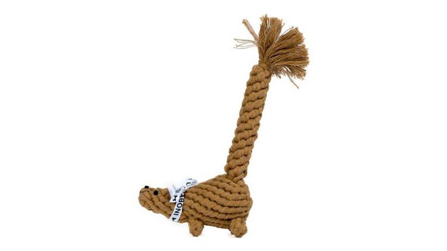 LABONI EDDIE EICHHORN robustes Tierspielzeug aus zahnpflegendem Baumwolltau
