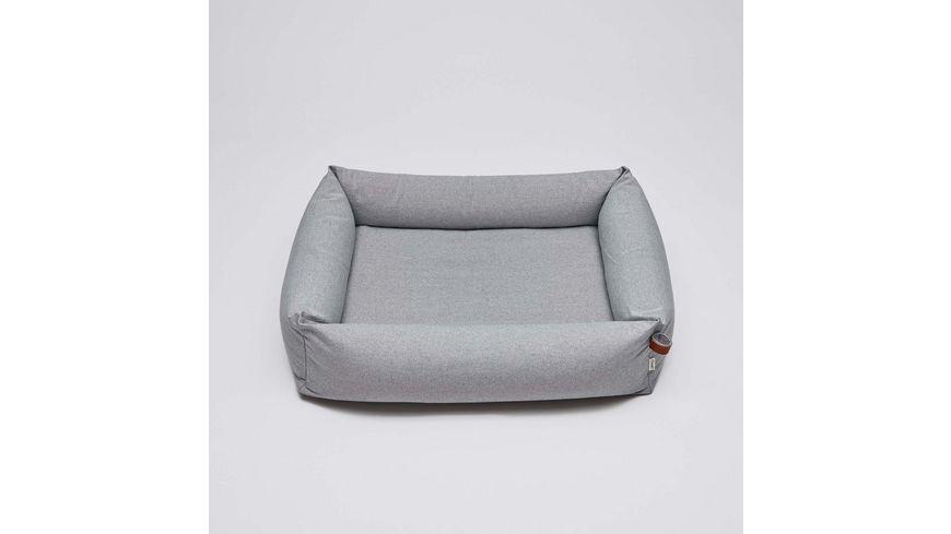 Cloud7 Hundebett Sleepy Deluxe Tweed Grey Medium