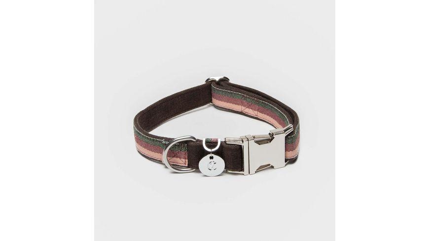 Cloud7 Halsband Grace Brown 25mm Medium