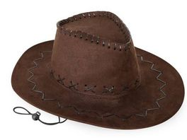 Fries 38939 Cowboyhut Wildlederoptik braun Gr 58 cm
