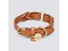 Cloud7 Halsband Hyde Park Cognac Small