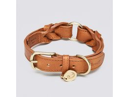 Cloud7 Halsband Hyde Park Cognac Large
