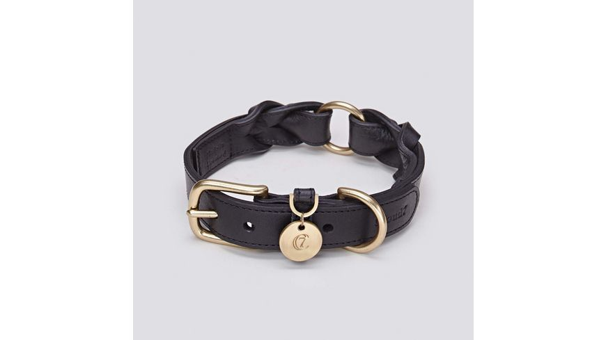 Cloud7 Halsband Hyde Park Black Medium