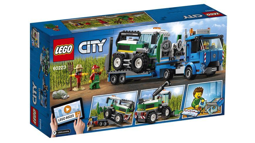 LEGO City 60223 Transporter fuer Maehdrescher
