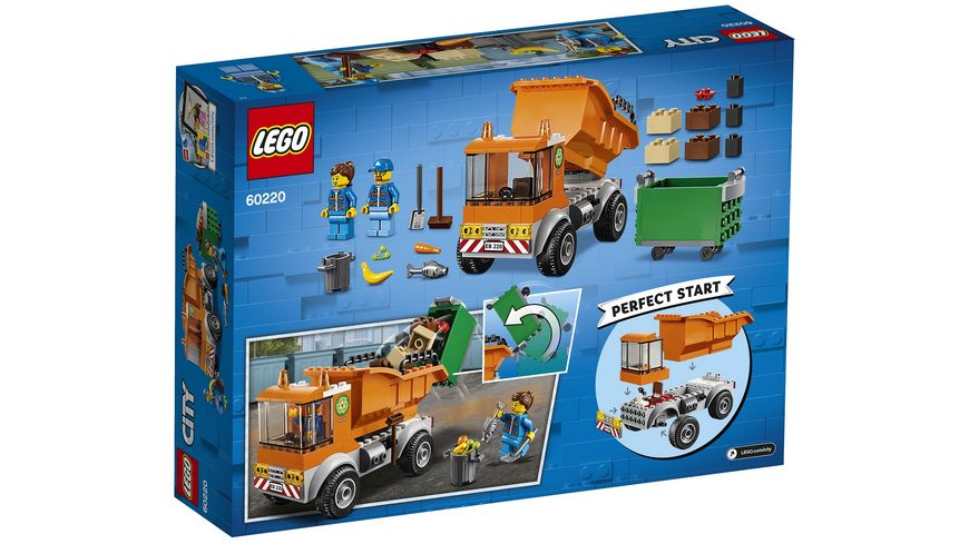 LEGO City 60220 Muellabfuhr