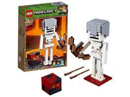 LEGO Minecraft 21150 Minecraft BigFig Skelett mit Magmawuerfel