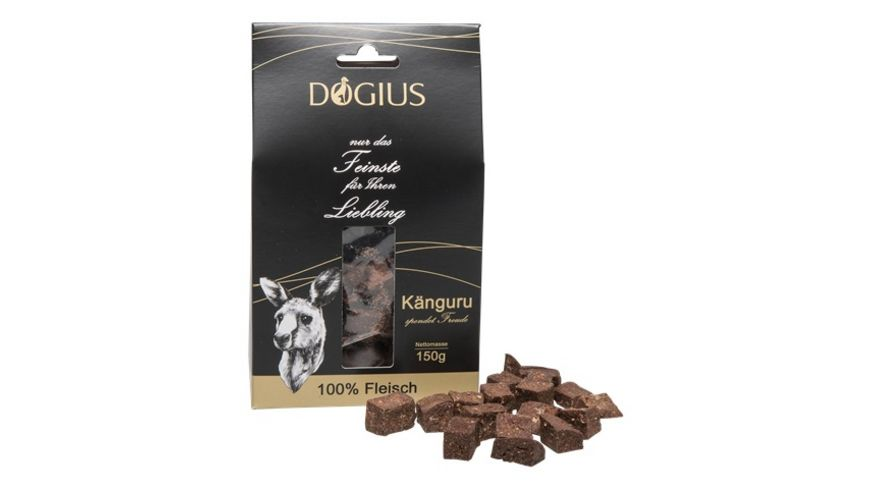 DOGIUS Fleischbites Kaenguru 100 Fleisch