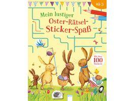 Mein lustiger Oster Raetsel Sticker Spass