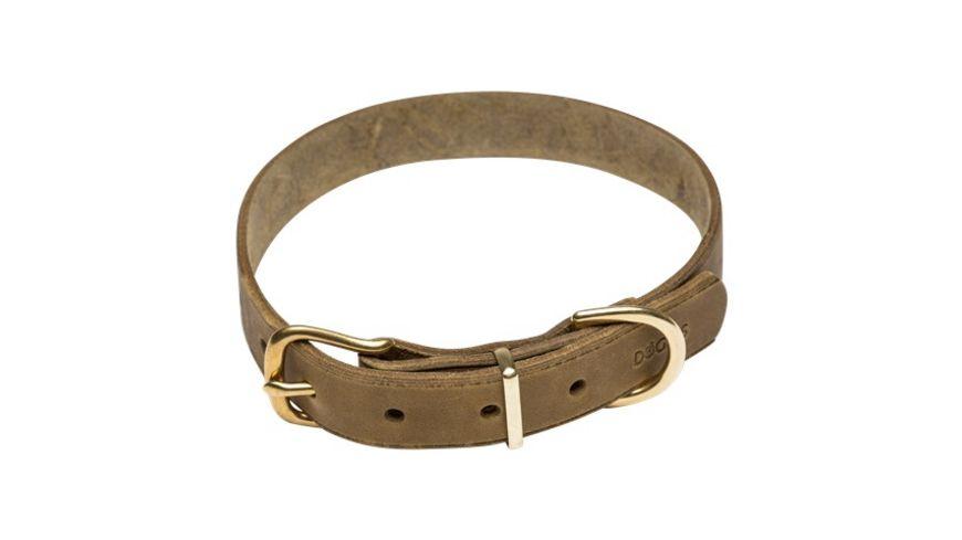 DOGIUS Hundehalsband Hermes gruen M