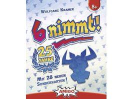 Amigo Spiele 6 nimmt 25 Jahre
