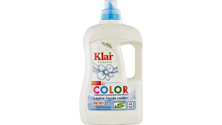 Klar Eco Sensitive Waschmittel Color