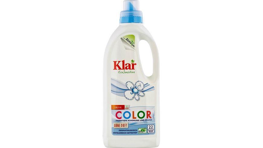 Klar Eco Sensitive Waschmittel Color