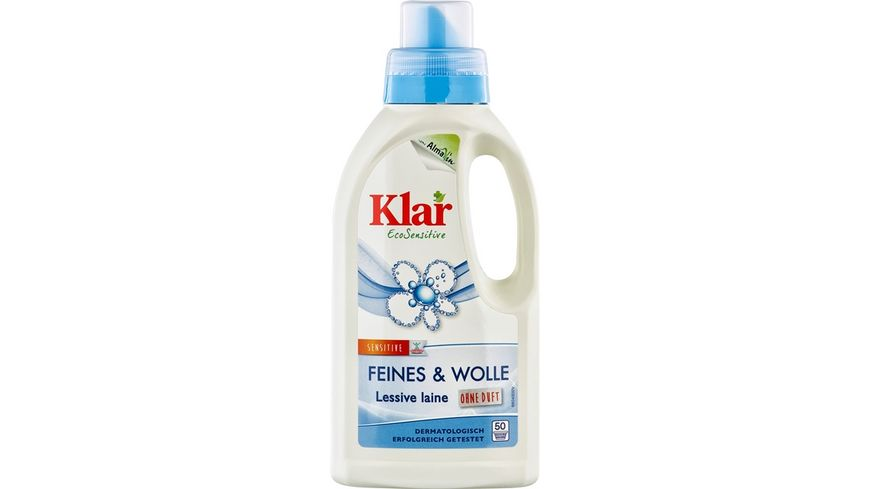 Klar Eco Sensitive Waschmittel Feines Wolle