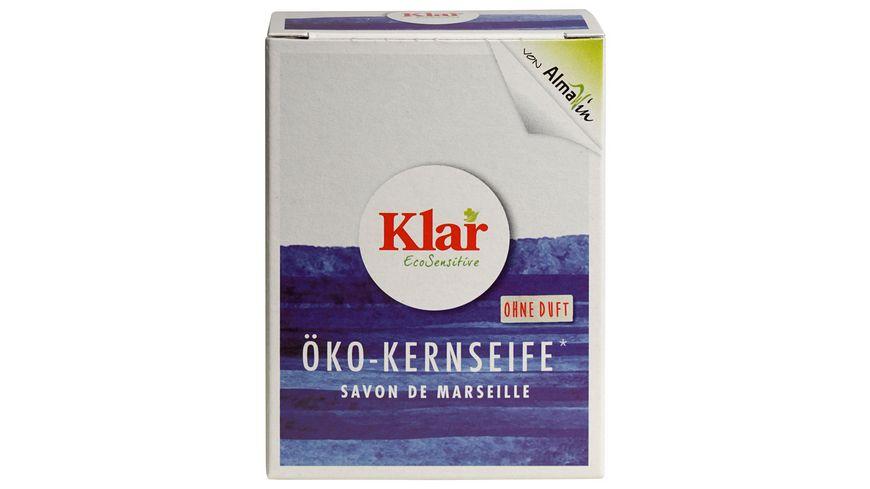 Klar Eco Sensitive Oeko Kernseife