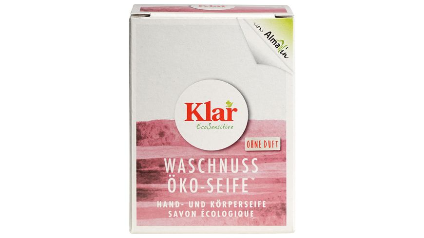 Klar Eco Sensitive Oeko Seife Waschnuss