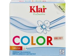 Klar Eco Sensitive Waschmittel Color Pulver