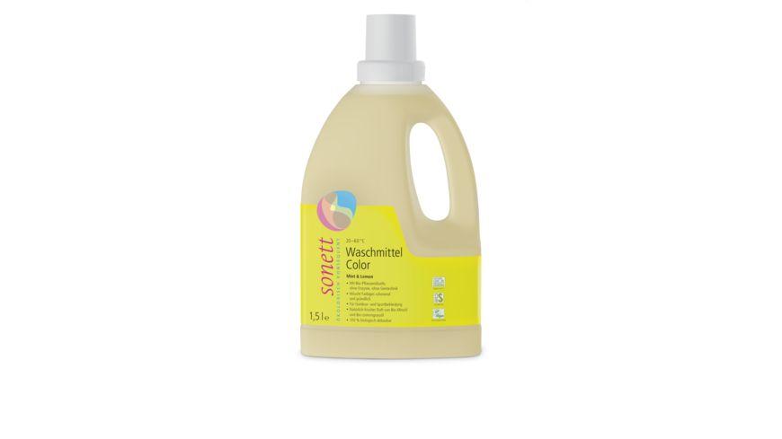 sonett Waschmittel Color Mint & Lemon