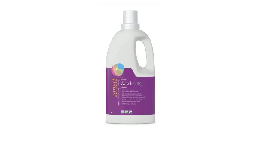 sonett Waschmittel fluessig Lavendel