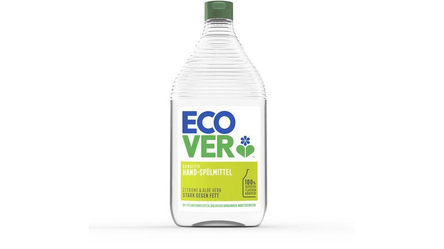 Ecover Geschirrspuelmittel Zitrone Aloe Vera