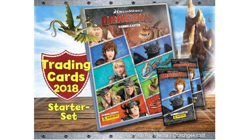 Panini Dragons Serie 4 Tradingcards Starter Set