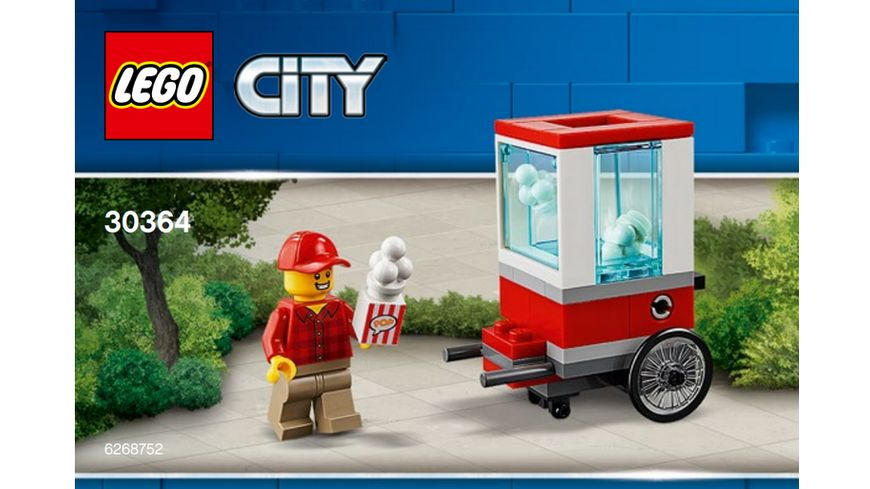LEGO City 30364 City Popcorn Cart