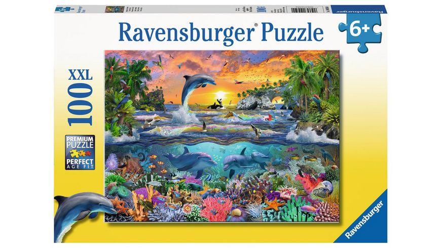 Ravensburger Puzzle Tropisches Paradies 100 XXL Teile