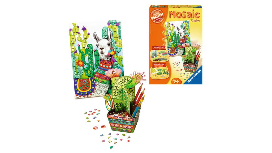 Ravensburger Beschaeftigung Mosaic Midi Cactus