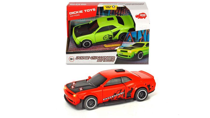 Dickie Dodge Challenger SRT Hellcat 1 Stueck sortiert