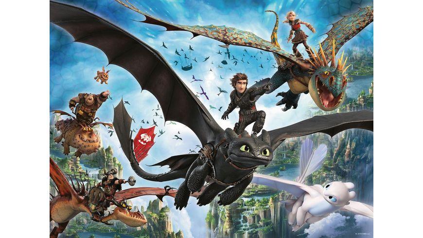 Ravensburger Puzzle Dragons Die verborgene Welt 100 XXL Teile