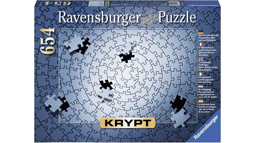 Ravensburger Puzzle Krypt silber 654 Teile