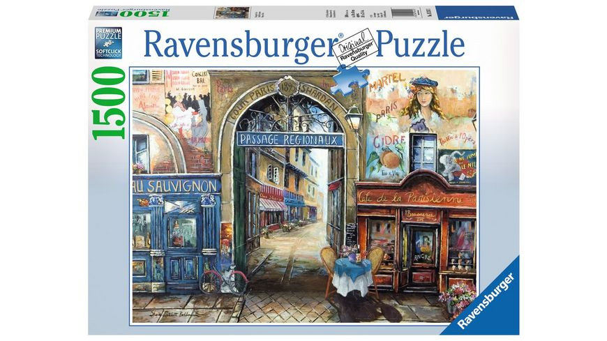 Ravensburger Puzzle Passage in Paris 1500 Teile