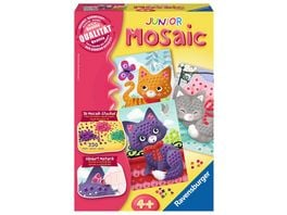 Ravensburger Beschaeftigung Mosaic Junior Cats