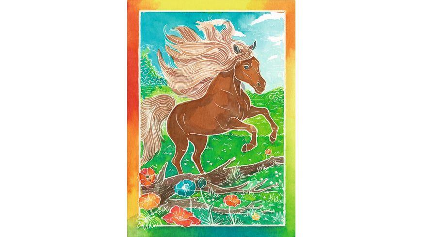 Ravensburger Beschaeftigung Mixxy Colors Wilde Pferde