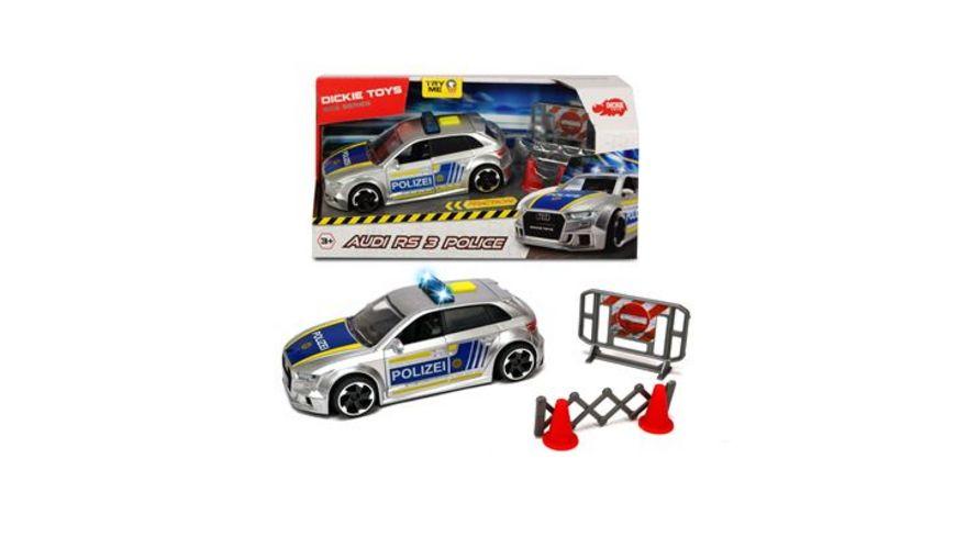 Dickie Audi RS3 Police