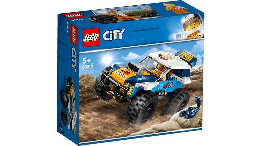 LEGO City 60218 Wuesten Rennwagen
