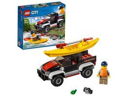 LEGO City 60240 Kajak Abenteuer