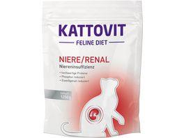 Kattovit Katzentrockenfutter Feline Niere Renal