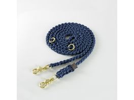 MOLLY STITCH Maritime Leine Navy Medium