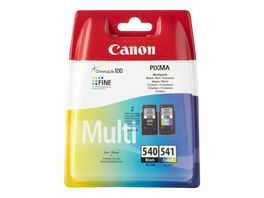 Canon Druckerpatrone PG 540 CL 541 Multipack schwarz